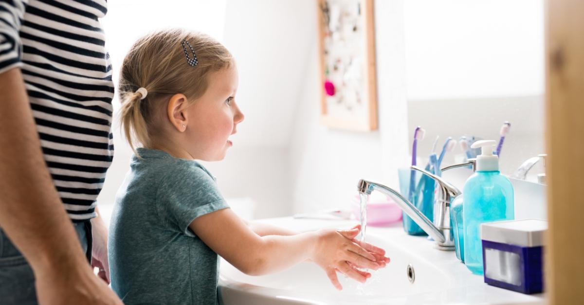 habitos de higiene niños
